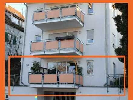 Attraktive 2-Zi.-Wohnung fußläufig zur Tübinger Innenstadt