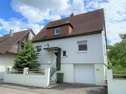 Tolles Familiendomizil in Besigheim - Einfamilienhaus mit traumhaftem Garten zu verkaufen !