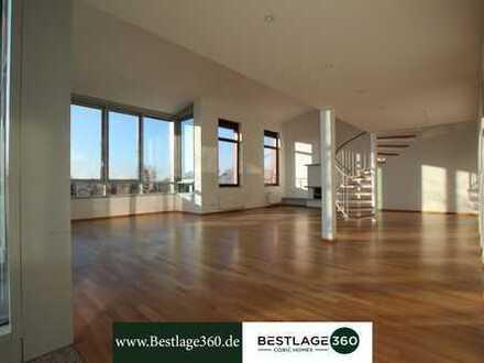 Luxus Privatsphäre • Penthousewohnung mit großer Terrasse • Nähe Grüneburgpark