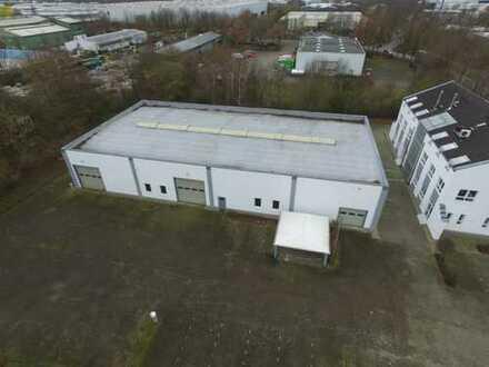 Top Lage Oyten Hochwertige Lager- Werkstatthalle 800m² + 3000m² Grundstück