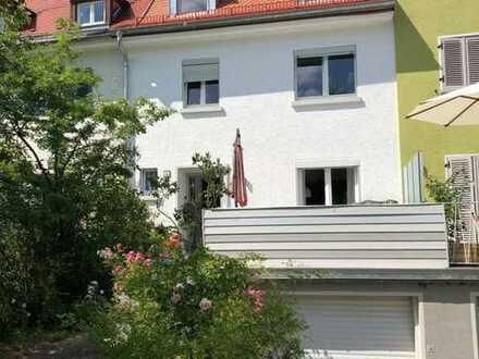 Schönes Haus in Nürnberg, Ziegelstein