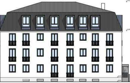 Neubau 3-Zimmer Wohnung im Hain-Gebiet