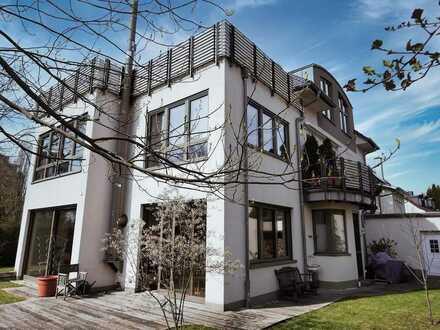 2-Familienhaus der Premiumklasse in sehr guter Wohnlage des Darmstädter Komponistenviertel!