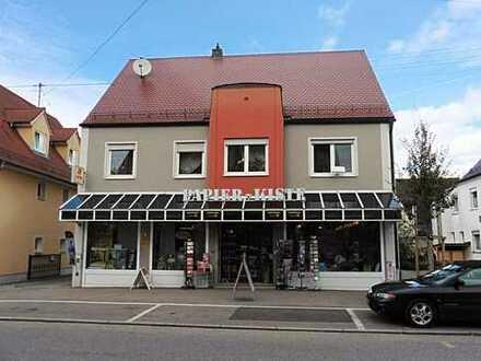 Attraktives Ladengeschäft im Zentrum von Zusmarshausen