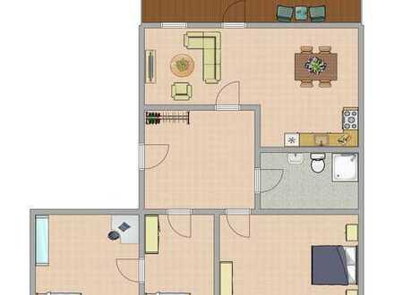 4-Raum-Wohnung im Stadtzentrum