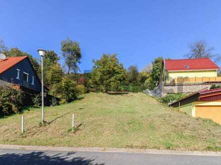Gelegenheit: Hang-Baugrundstück ohne Altbestand (Baulücke) in 92348 Gnadenberg