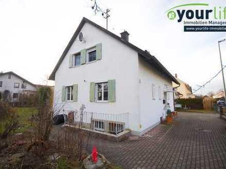 Einfamilienhaus auf großem Grundstück in Germaringen