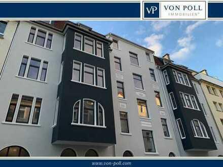BI-Mitte: Erstbezug nach Sanierung: 4-Zimmer-Wohnung mit Stellplätzen!