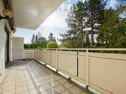 Ruhig & Wertvoll: lichtdurchflutete 2-Zimmerwohnung mit Sonnenbalkon