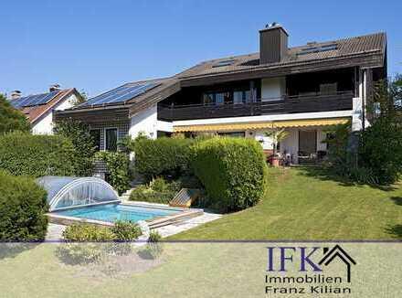 Sehr gepflegte Villa auf dem Guggenberg in Peißenberg
