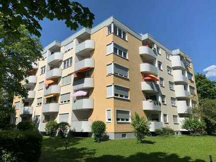 Familienwohnung im Grünen - 4-Zimmer-Wohnung in Hochzoll Süd!