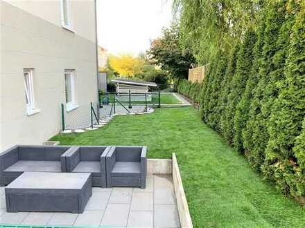 Provisionsfrei +++ Erdgeschosswohnung mit großem Garten und zweiter Etage +++