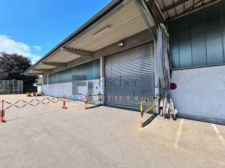 Gewerbehalle mit 500 m² Lagerfläche in Bühl mit direkter Nähe zur Autobahn A5