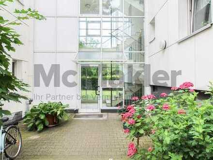 Ideale Kapitalanlage: Vermietete 3-Zi.Whg. mit Westbalkon in grüner Wohnlage