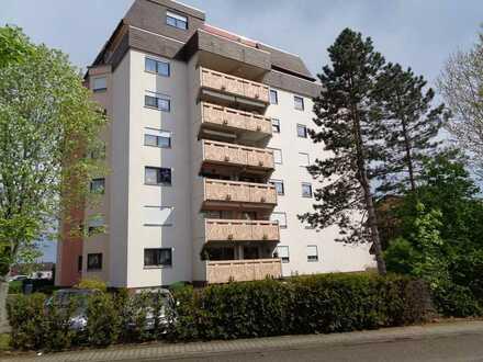 Preiswerte, gepflegte 2-Zimmer-Wohnung mit Balkon in Philippsburg
