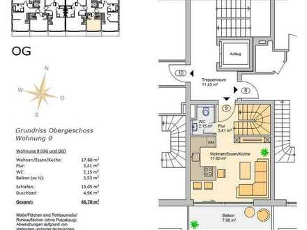 Hochzoll Neubau 2 ZKB Etagenwohnung in TOP Lage incl. Küche