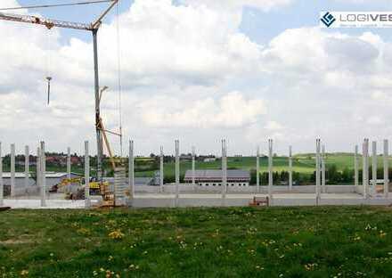 Neubau einer Lager- und Logistikhalle in Buchloe