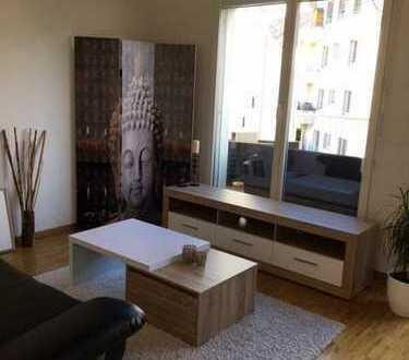 2 Zimmer mit eigenem Bad/Terrasse (möbliert)