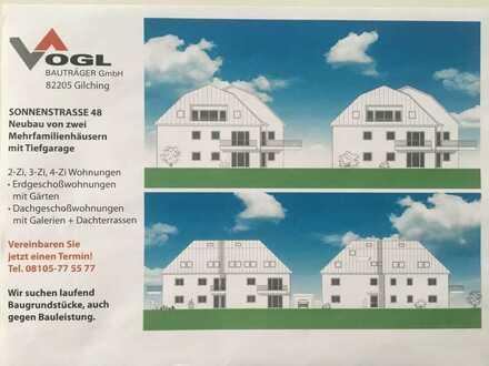 2 Zi-DG Wohnung mit Galerie und Dachterrasse