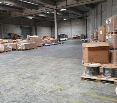 500m² bis 1500m² Teilflächen in Lagerhalle in verkehrsgünstiger Lager