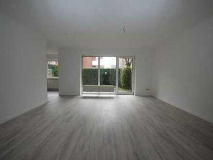 1 Zimmer Erdgeschoss mit Terrasse/Gartenteil, ruhige innenstadtnahe Lage