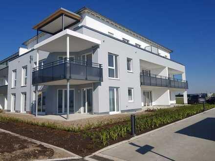 Erstbezug: helle 2-ZKB-Wohnung mit großem Balkon und toller Aussicht!!