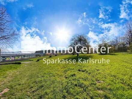 Baugrundstück mit perfekter Infrastruktur in Karlsbad-Langensteinbach zu verkaufen!