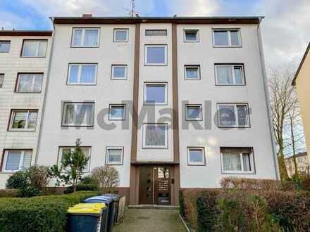 Kapitalanlage in Köln: Vermietete 2-Zi.-Wohnung mit Balkon in gepflegtem Zustand