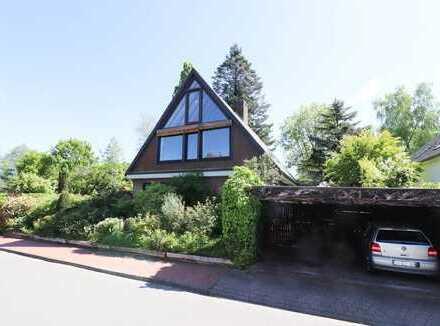 Architektenhaus im Dornröschenschlaf! Einfamilienhaus mit ELWHG in Handorf