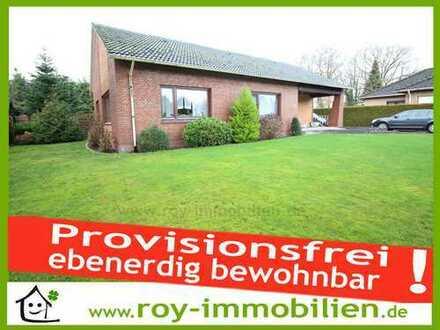 +++ PROVISIONSFREI, ebenerdig bewohnbar, renoviert, tolles, großes Grundstück sichtgeschützt ! +++