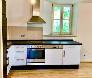 Stilvolle, vollständig renovierte 2,5-Zimmer-EG-Wohnung mit Balkon und EBK in Regensburg