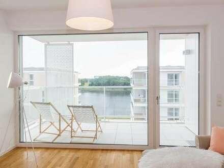 Traumhafter Blick auf die Weser - Zuhause wie im Urlaub!