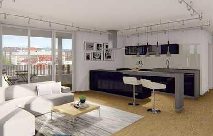 Klasse 2-Zimmer-Wohnung im Park - Sonnig und luftig!