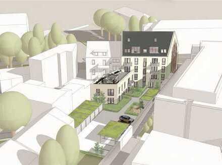 NEU! Projektierte 3 ZKB-ETW (EG) im Herzen von KA-Durlach mit Terrasse und Gartenanteil!