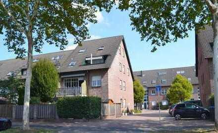 Freundliche 4-Zimmer-Maisonette-Wohnung mit Loggia und Einbauküche in Bocholt