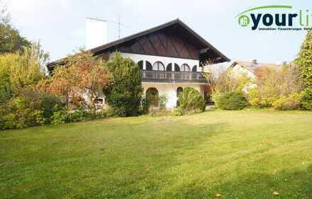 Exclusiv, großzügig, individuell - villenartiges Einfamilienhaus in Erkheim!