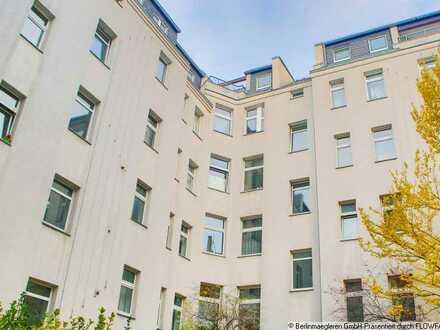 Langfristig vermietete Altbauwohnung als Investment in Berlin-Wedding