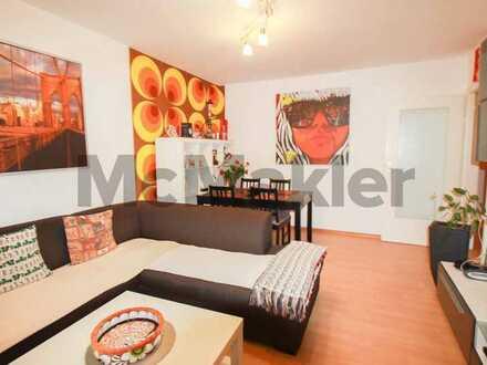 Schön geschnittene 2-Zimmer-Wohnung mit Balkon