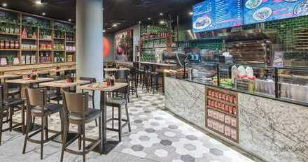 ciao bella - italian food: Restaurant am Haupteingang der Pasing Arkaden und Pasinger HBF