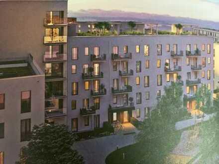 Erstbezug: freundliche 3-Zimmer-Dachgeschosswohnung mit Balkon in Aubing, München