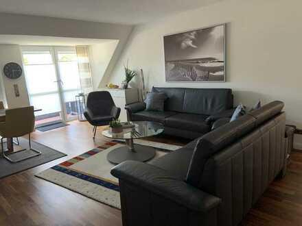 4-Raum-Maisonette-Wohnung mit Balkon und Einbauküche in Rheine Klimaanlage