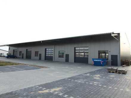Neubau einer Gewerbeeinheit im neuen Industriegebiet von Barsinghausen: 720 m² Fläche - teilbar!