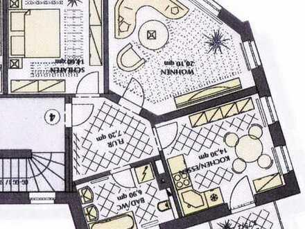 !!ToP!! frisch renovierte 2-Raum Wohnung im 1.OG mit Balkon, Tageslichbad und Stellplatz **