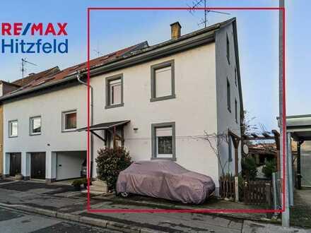 Kapitalanlage oder Eigennutzung: Gepflegtes 2-Familienhaus mit Garten im Herzen von Brombach
