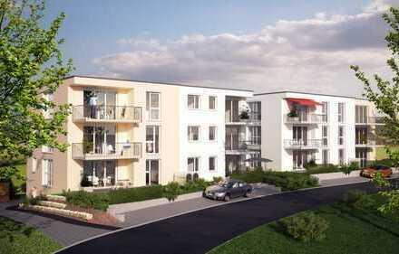 Attraktive 3-Zimmer-Neubauwohnung mit 2 Balkonen im Obergeschoss