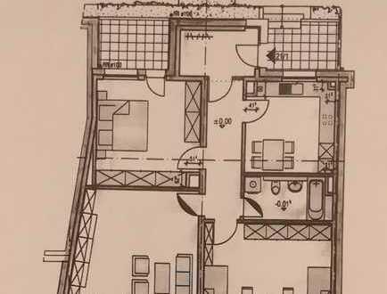 Gepflegte Erdgeschosswohnung mit drei Zimmern sowie Balkon und EBK in Bamberg