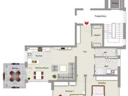 3,5 Zimmer Neubau-Wohnung in Frittlingen