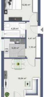 Helle freundliche 2-Zimmer Wohnung in Rheine