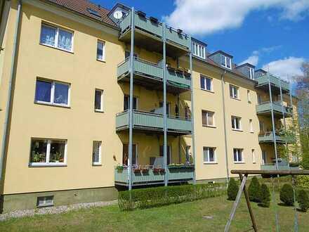 Sonnige 3-Zimmer-Wohnung mit Balkon in Neuruppin