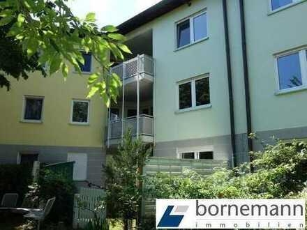 Entspanntes, ruhiges Wohnen in Büchenbach! Freie 3-Zi.-ETW mit TG, EBK + Balkon